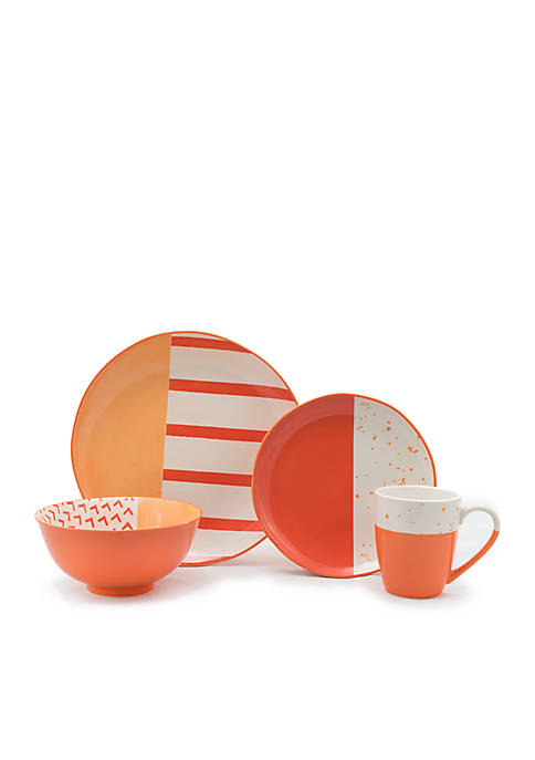 Gaia Bliss 16-Piece Dinnerware Set