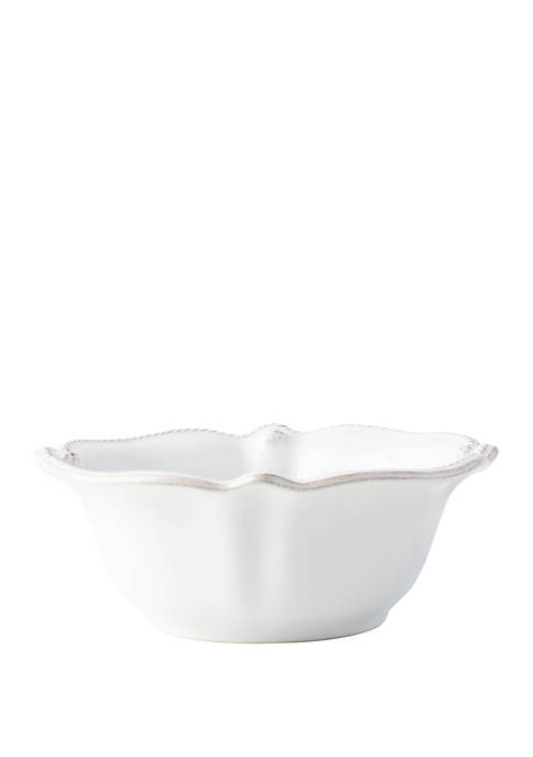 Juliska Berry & Thread Whitewash Cereal/Ice Cream Bowl