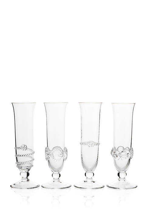 Juliska Heritage Collectors Set of Flutes