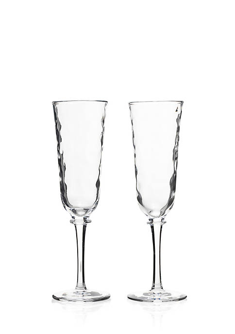Juliska Carine Toasting Flute Set of 2