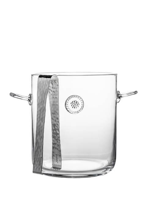 Juliska Berry & Thread Ice Bucket with Tongs