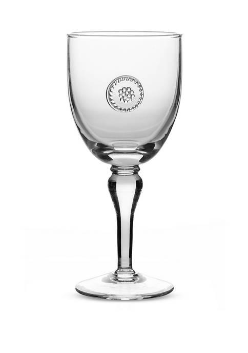 Juliska Berry & Thread Stemmed Wine Glass
