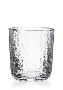 Juliska Double Old Fashion Glass 4-in. W x 4-in. H