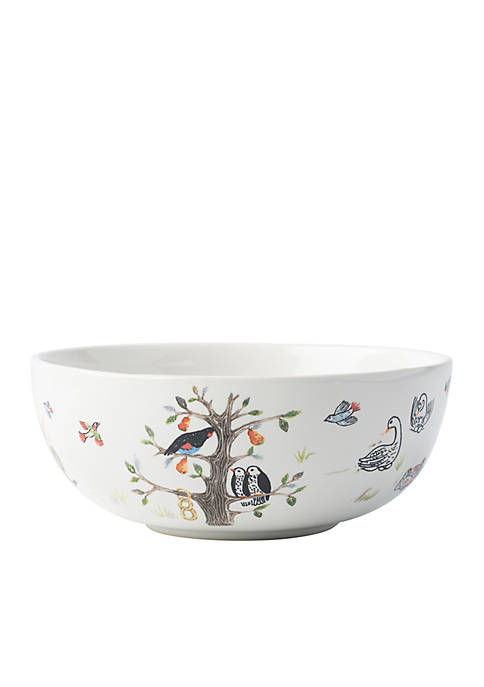 Juliska Twelve Days of Christmas Cereal/Ice Cream Bowl