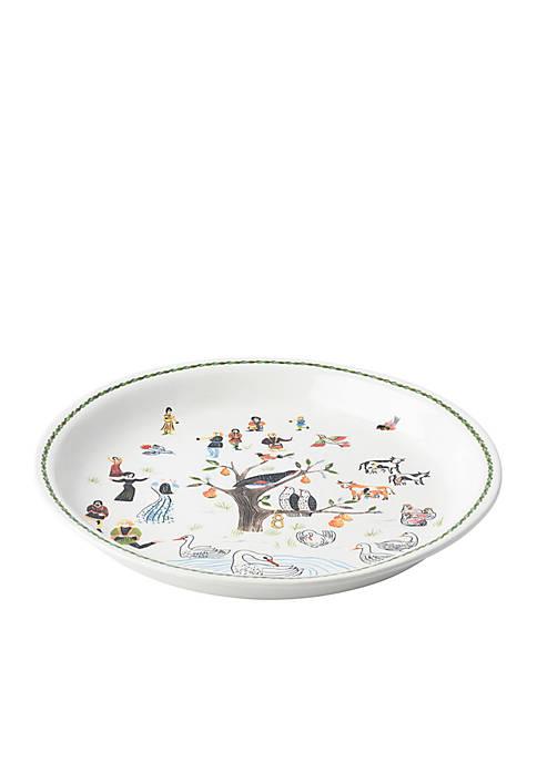 Juliska 12 Days of Christmas Round Platter