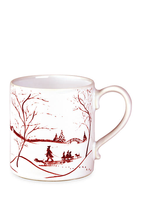 Juliska Winter Frolic Ruby Mug