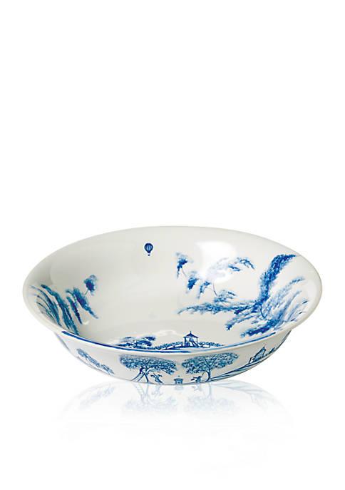 Country Estate Delft Blue 10-in. Serving Bowl Harvest