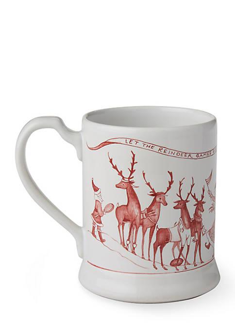 Juliska Reindeer Games Mug