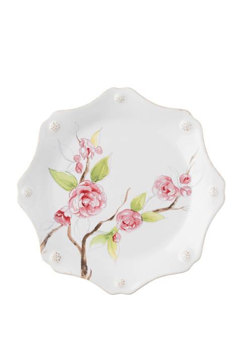Juliska Berry & Thread Floral Sketch Camellia Dessert/Salad