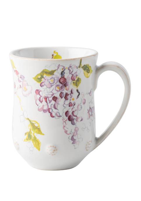 Juliska Berry & Thread Floral Sketch Wisteria Mug