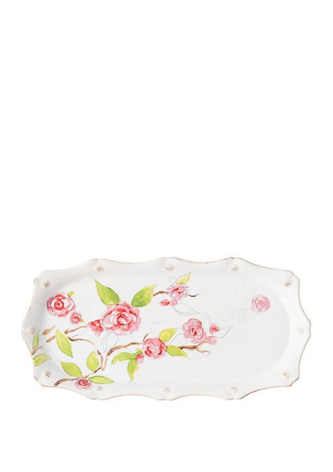 Juliska Berry & Thread Floral Sketch Camellia Hostess