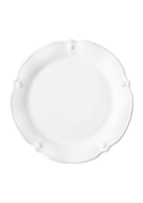 Juliska Berry & Thread Whitewash Flared Dinner Plate