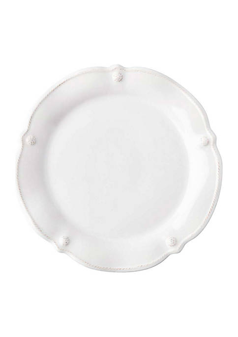 Juliska Berry & Thread Whitewash Flared Cocktail Plate
