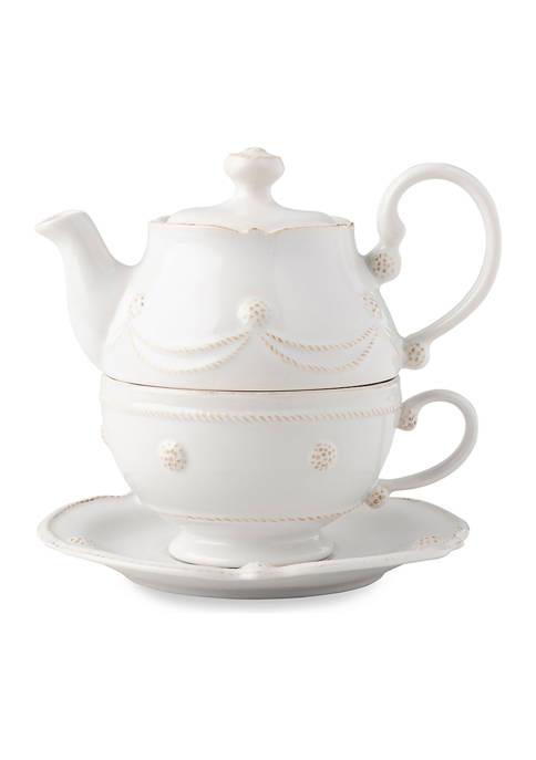 Juliska Berry & Thread Whitewash Tea for One