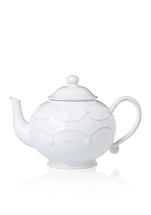 Juliska Berry & Thread Whitewash Teapot