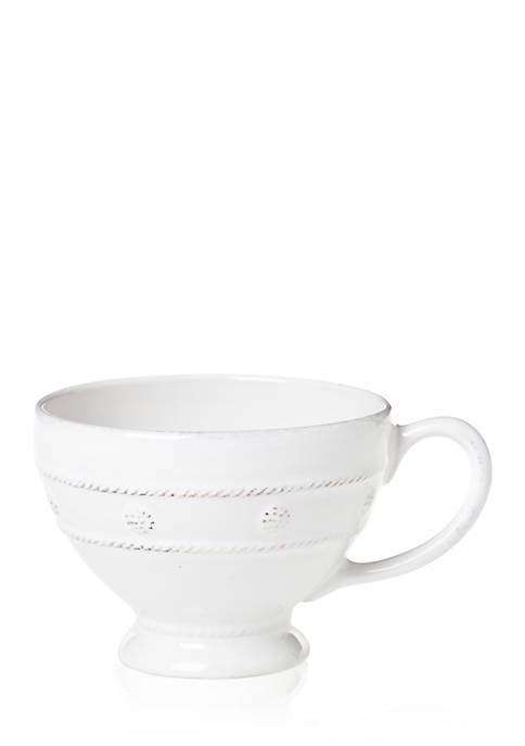 Juliska Berry & Thread Whitewash Breakfast Cup