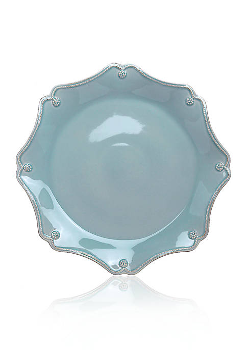 Juliska Berry & Thread Ice Blue Scallop Charger
