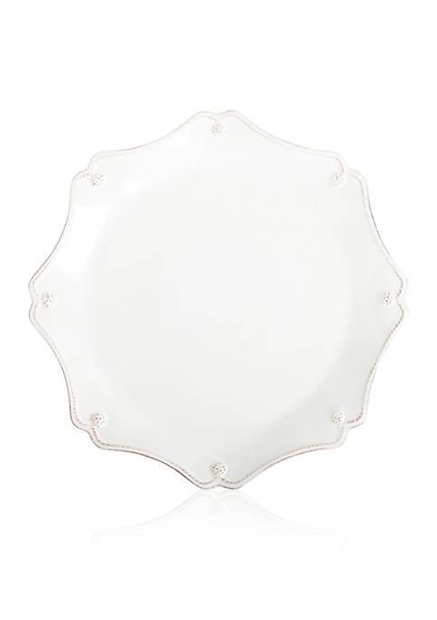 Juliska Berry & Thread Whitewash Scallop Charger Plate