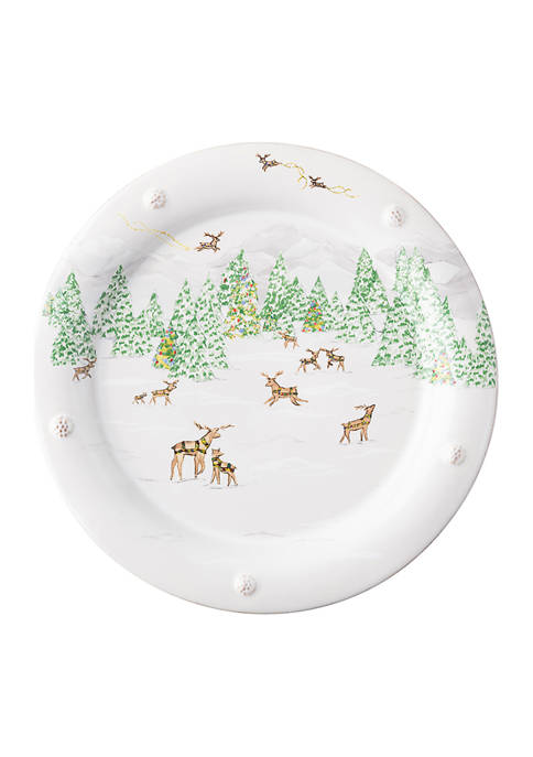 Juliska Berry & Thread North Pole Dinner Plate