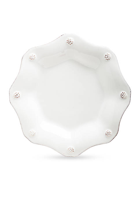 Juliska Berry & Thread Whitewash Scallop Tea Plate