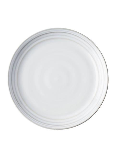 Juliska Bilbao White Truffle Cocktail Plate