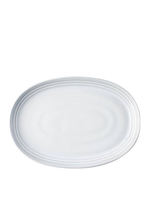 Juliska Bilbao White Truffle 17-in. Platter