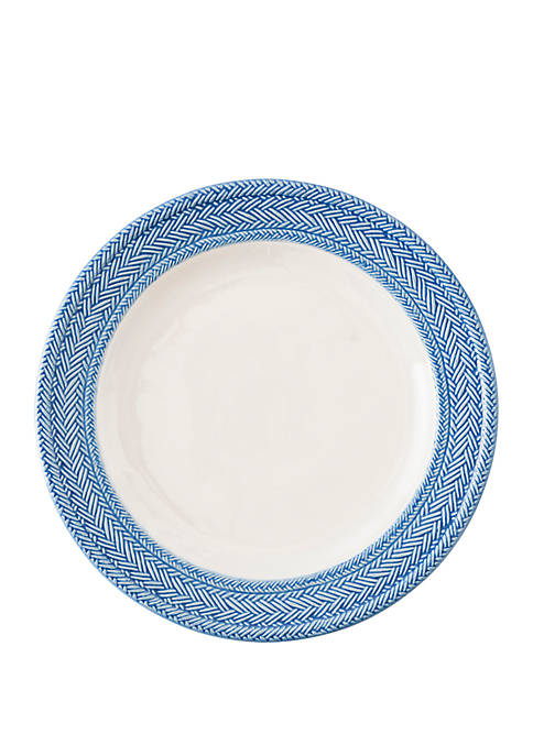 Juliska Le Panier White/Delft Dinner Plate