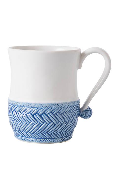 Juliska Le Panier White/Delft Mug