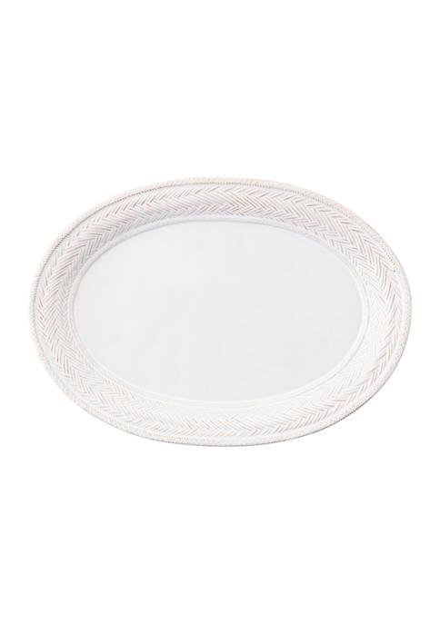 Juliska Le Panier Whitewash Platter