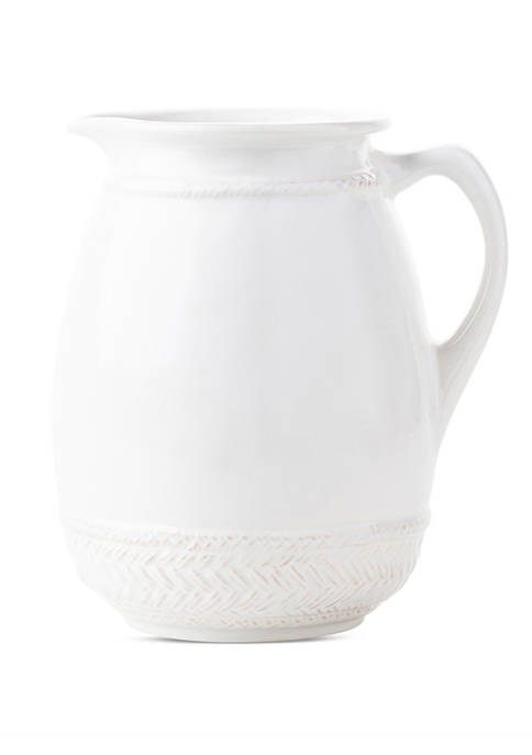 Le Panier Whitewash Pitcher/Vase