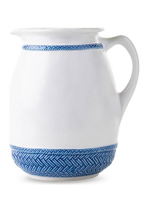 Juliska Le Panier Delft Blue Pitcher/Vase