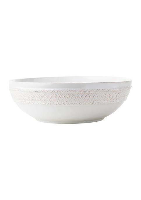Juliska Le Panier Whitewash Serving Bowl