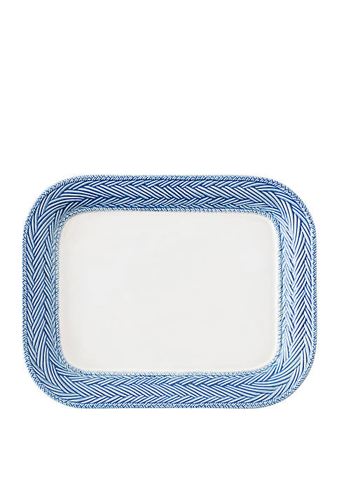 Le Panier White/Delft 11.5 in Platter