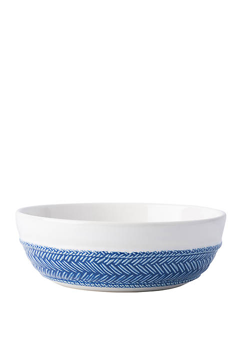 Juliska Le Panier White/Delft Coupe Pasta/Soup Bowl