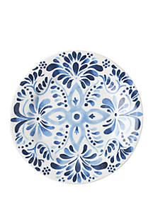 Juliska Iberian Journey Indigo Dessert/Salad Plate