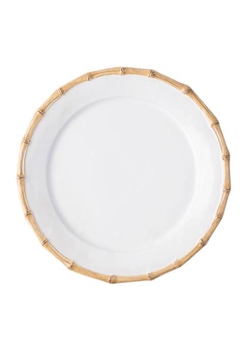 Juliska Classic Bamboo Natural Dessert/Salad Plate