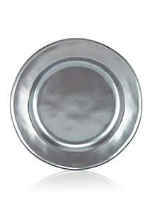 Pewter Stoneware Salad Plate