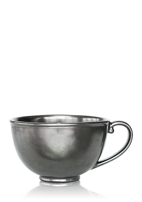 Juliska Pewter Stoneware Tea/Coffee Cup