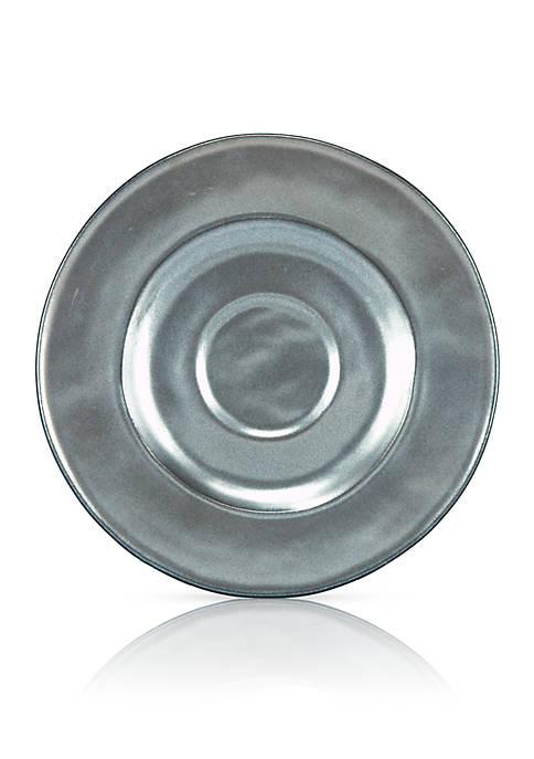 Juliska Pewter Stoneware Saucer