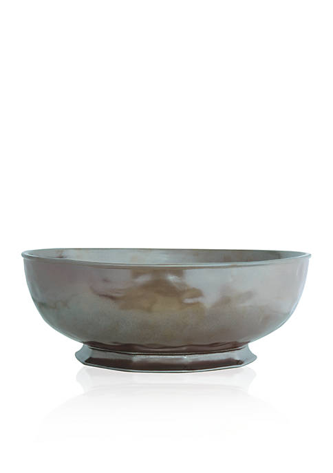 Juliska Pewter Stoneware 14-in. Serving Bowl