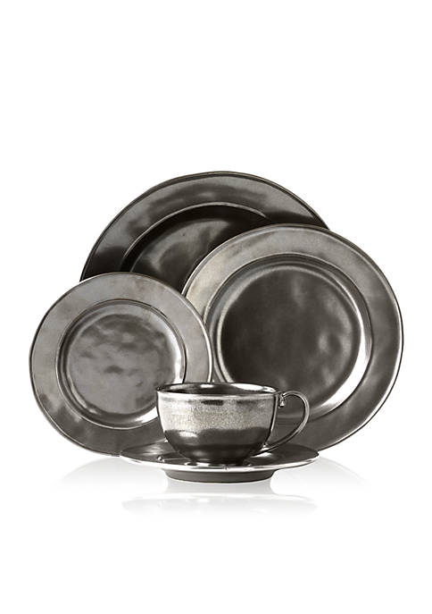 Juliska Pewter Stoneware 5-pc. Place Setting