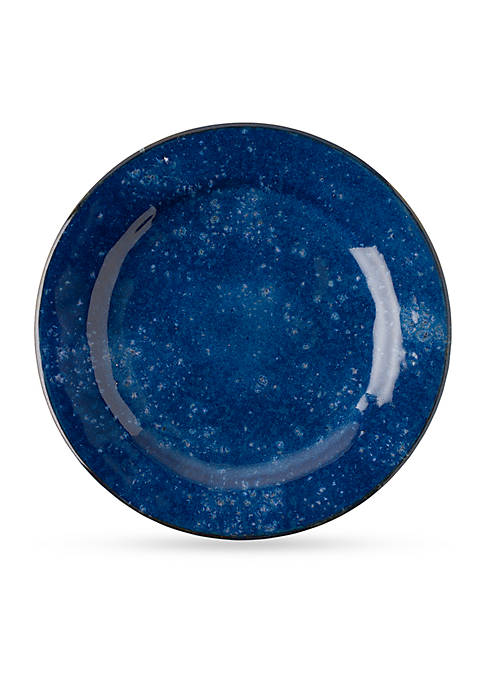 Juliska Puro Dappled Cobalt Dinner Plate