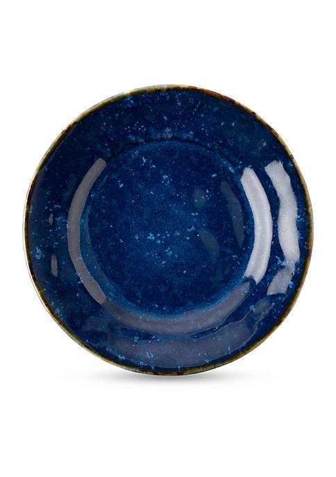 Juliska Puro Dappled Cobalt Cocktail Plate