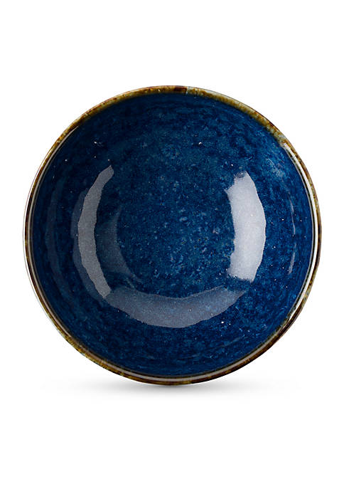 Juliska Puro Dappled Cobalt Bowl