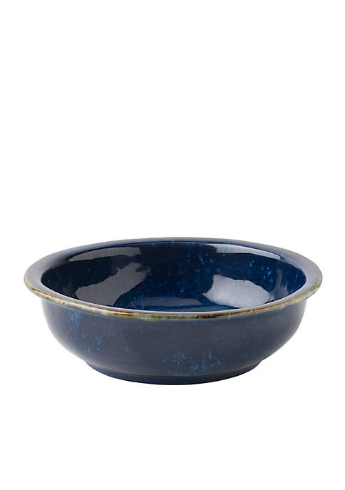 Juliska Puro Dappled Cobalt Coupe Bowl