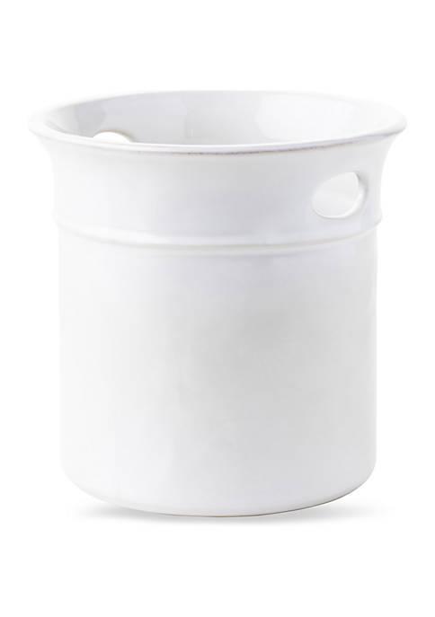 Juliska Puro Whitewash Utensil Crock