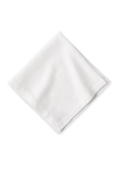 Juliska Heirloom Linen White Napkin