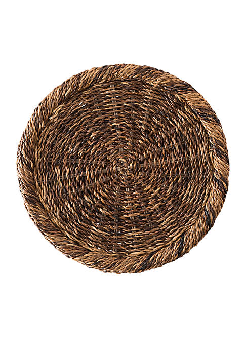 Juliska Rustic Rope Natural Charger