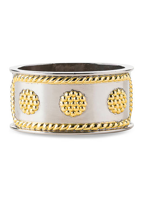 Berry & Thread Gold/Silver Napkin Ring