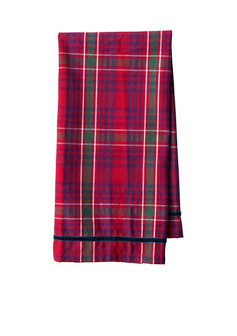 Juliska Red Tartan Tea Towel